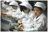 Foxconn Workers sode-by-side