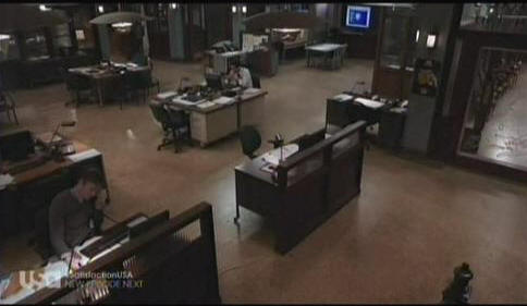 Law & Order set design uses the Bull Pen system.